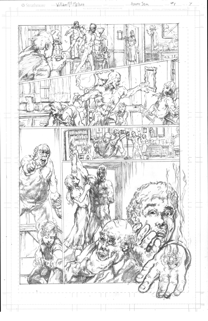 Horror Pencils Gr by billyjimbo
