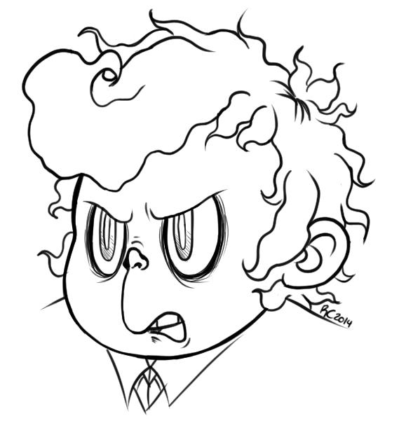 Pissed Percy by batterypoweredpotato