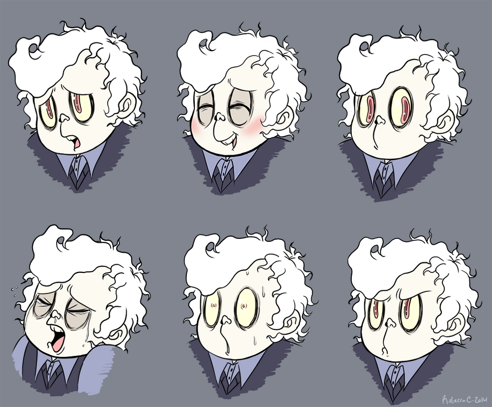Percy Expressions by batterypoweredpotato