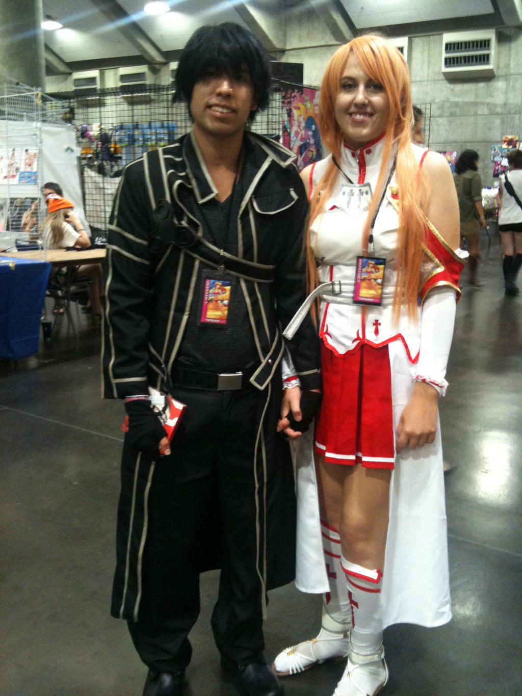 Kirito And Asuna By RaakxhyrShapeshifter