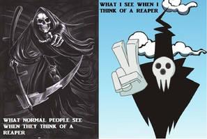 Soul Eater Meme: Reapers by ImDeathTheKid