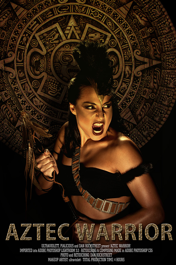 Aztec Warrior By DanRockstreet