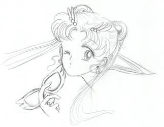 Sailor Moon by strawberrikiwi