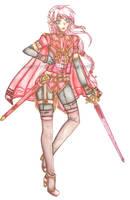 OC: Knight Lycoris by KnightLycoris