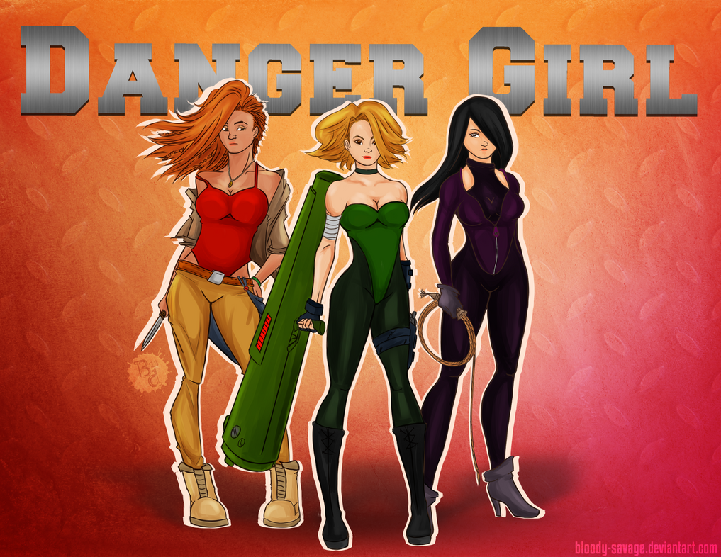 Danger Girl by bloody-savage