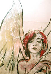 Werewolf Angel Rosso