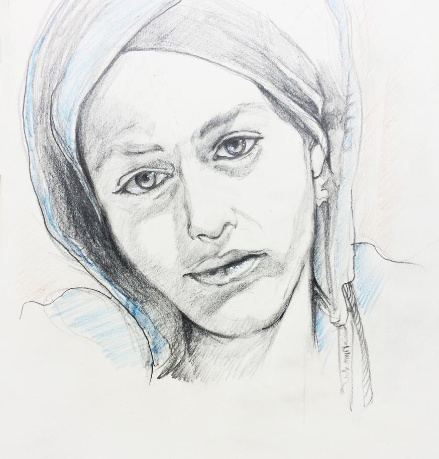 Portrait : Keny Arkana by Framagirl