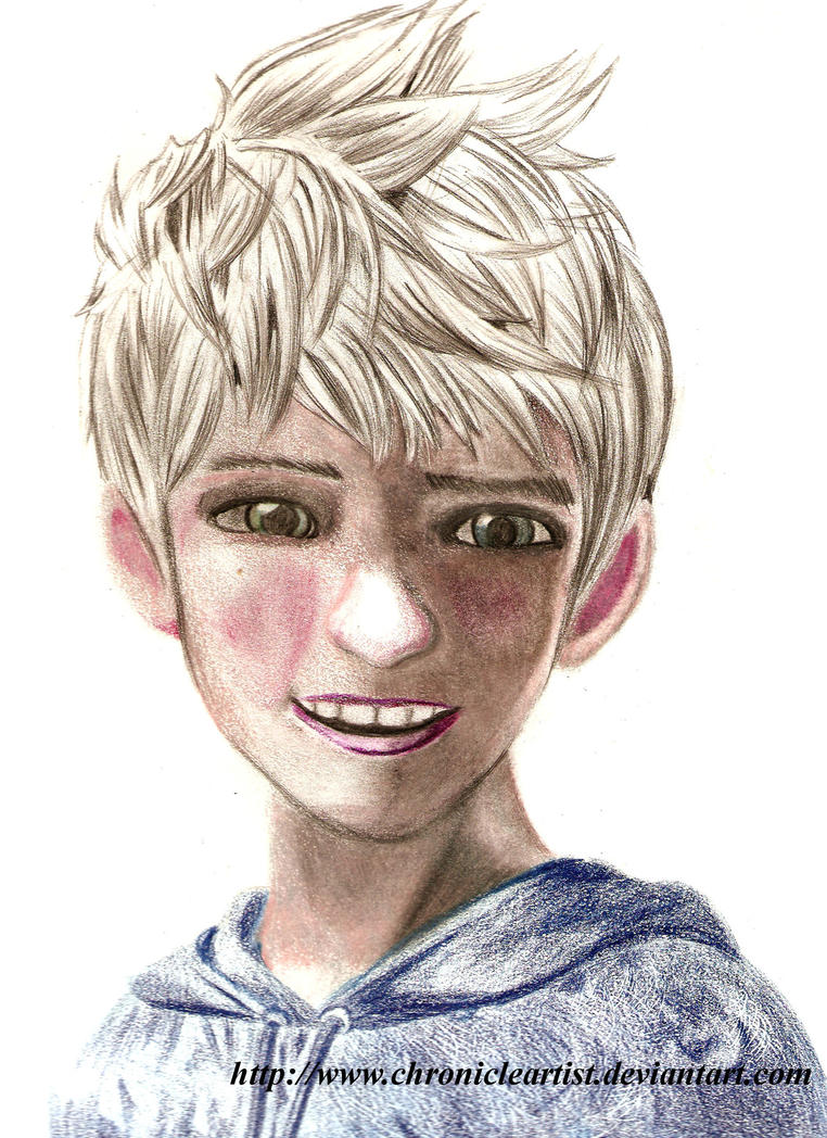 Jack Frost Rise Of The Guardians Colored By Chronicleartist On