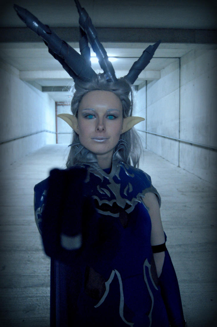 Diamond Dust- Shiva Cosplay Final Fantasy XIV by SwordofNyx