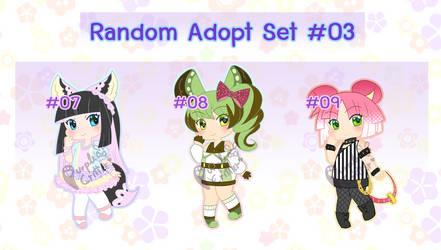 Random Adopt Set - #03 [Open] by Purple-Critter
