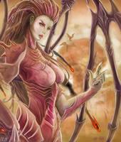 Kerrigan Queen of Blades by Aphanopanop