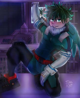 Deku Pro Hero by JunNoAce