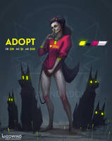 [CLOSED] Adoptables - Demon Girl (The Dog Lover)