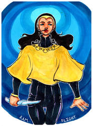 St Alia of the Knife by mamaOOD