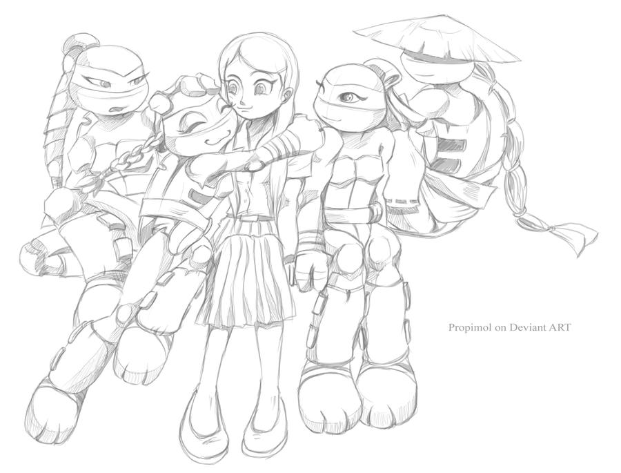 My Character Tmnt By Propimol On Deviantart