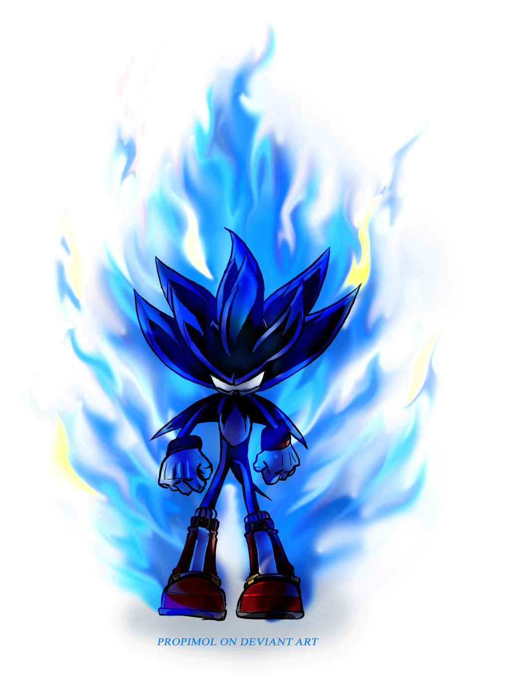 fire the hedgehog by propimol on deviantart