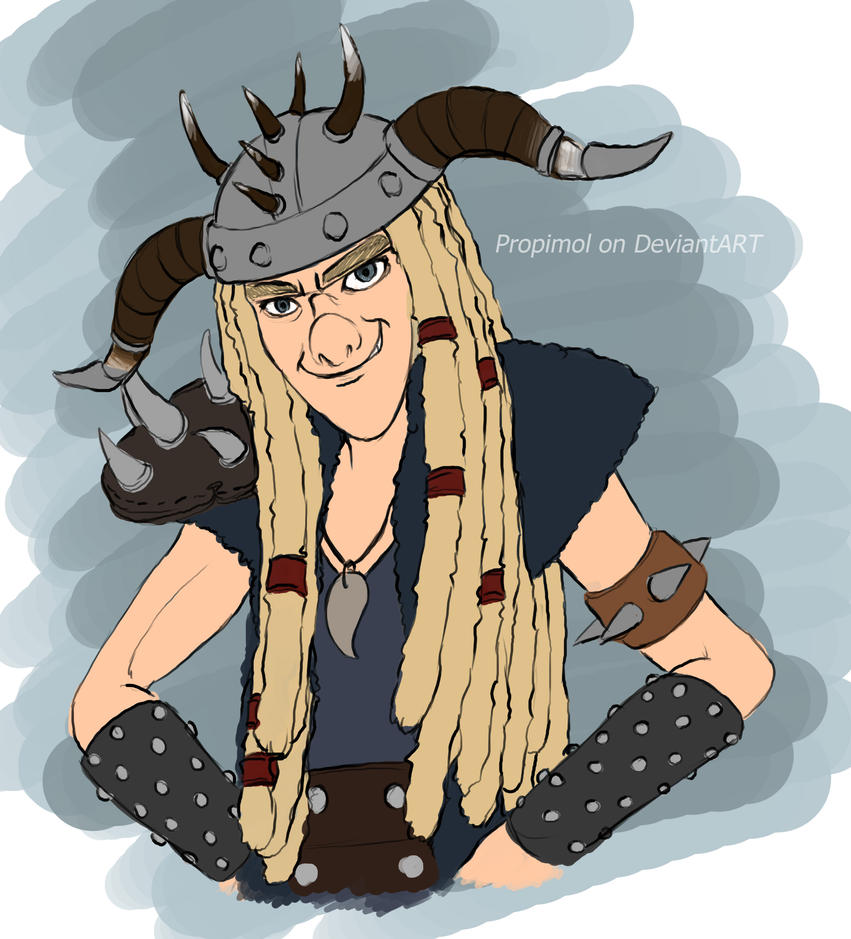 How to train your dragon 2 tuffnut by propimol on deviantart how to train your dragon 2 tuffnut by propimol ccuart Images
