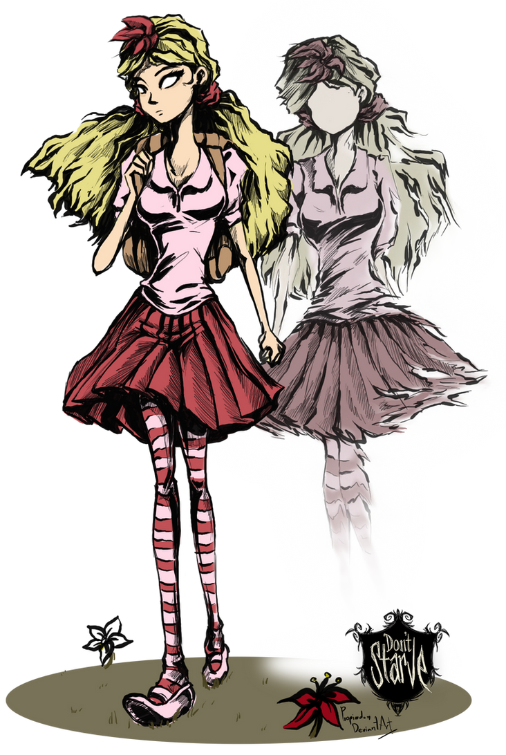 Don't starve Wendy Abigail by propimol on DeviantArt