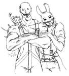 Dead by daylight trapper and huntress