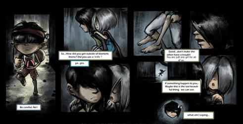104 Comic Story - 42 what am I saying