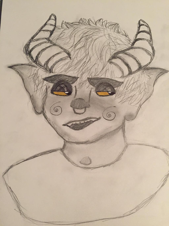 sexi demon boi by prickpi11s