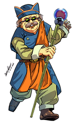 Chrono Trigger Collab: Melchior by AJthe90skid