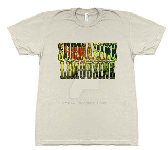 SUBMARINE LIMOUSINE Merch @ Tower Threads by Lightning-Powered
