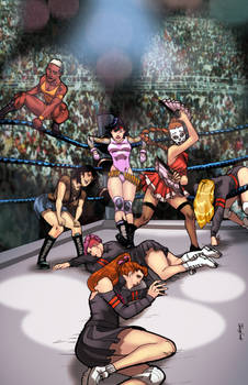 COMMISSION: Deadly Class Wrestling!