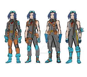 RPG Hero design