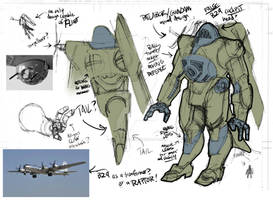 MECHA Bomber design