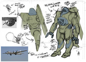 MECHA Bomber design