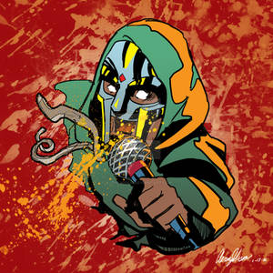 MF DOOM Tribute for @animehiphopofficial