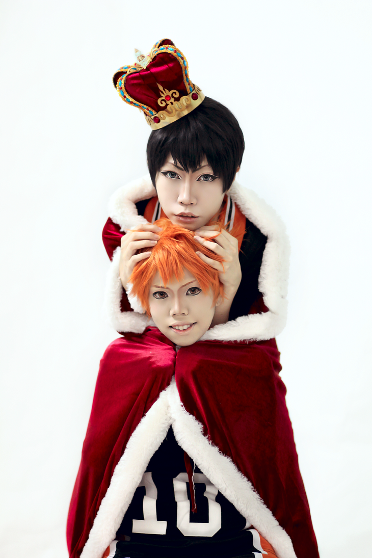 [Haikyuu cosplay] - I will be one king too by vani27
