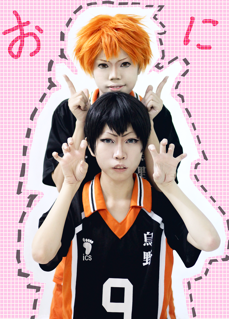 [Haikyuu cosplay] - Oni desu by vani27