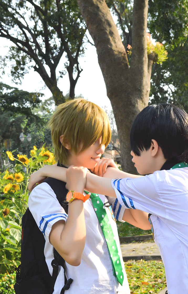 Free cosplay: Makoharu 2 by vani27