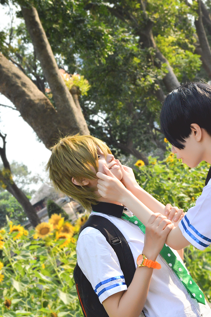 Free cosplay: Makoharu 1 by vani27
