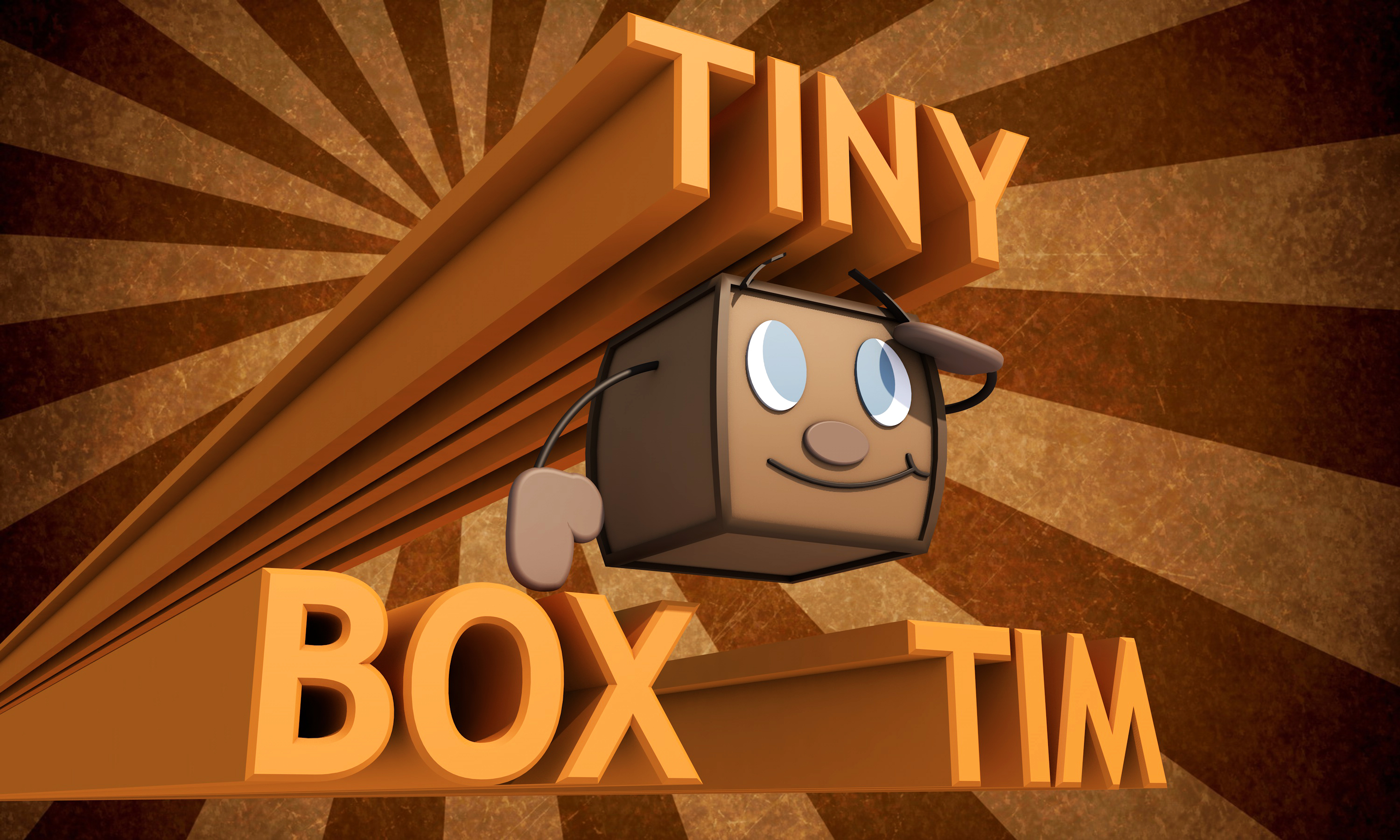 Markiplier's Tiny Box Tim by tiberius121212