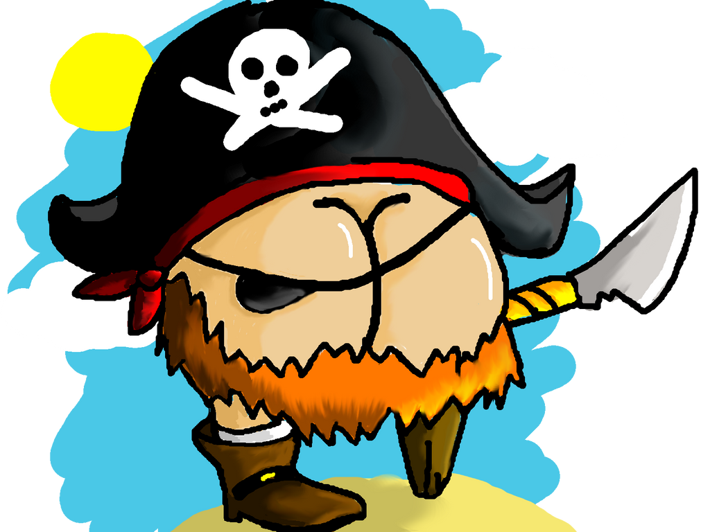 pirate Booty by pie-lord