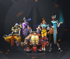 Overwatch - Group shot