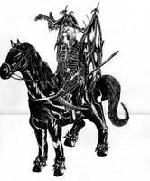 Horseman of apocalypse by Ojanpohja
