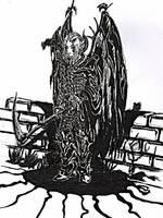 Ethan levitoi taeaellae by Ojanpohja
