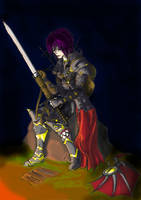 Warrior by Ojanpohja