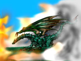 Emerald Dragon by Ojanpohja