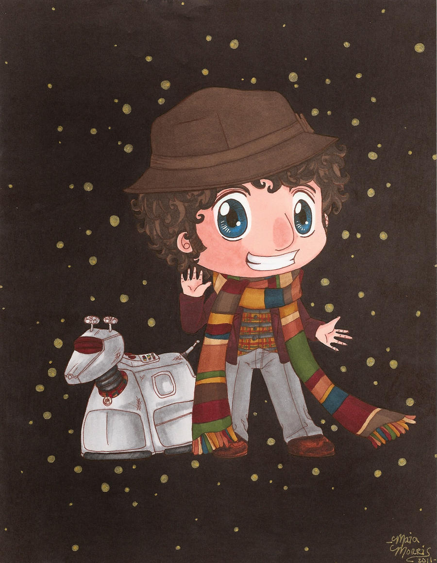 The 4th Doctor (Tom Baker) by HavocGirl