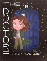 8th Doctor (Paul McGann) As a Chibi :3