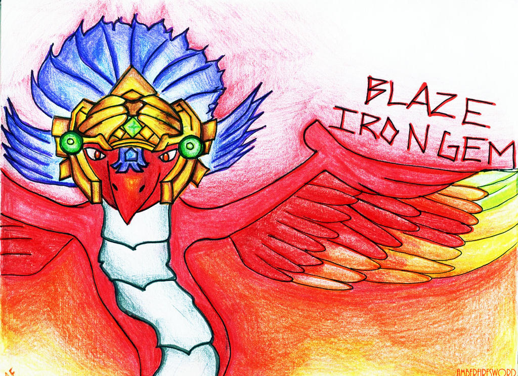 RQ: Blaze Irongem by AmberFiresword on DeviantArt
