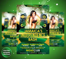 Jamaicas Independence Day flyer by Grandelelo