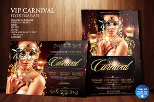 Vip Carnival Flyer Template by Grandelelo
