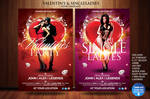 Valentines Day / Single Ladies Flyer Template