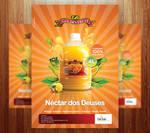 Golden Fruit Juice Ad Posters